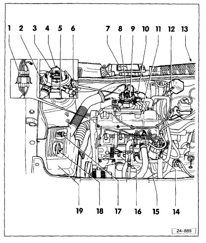 i a vw golf mk3 1 8 1995 its got no spark it has 12v at the coil fuel primes rev