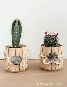 Bricolage Bois Facile : 20 projets cr atifs avec des pinces linge en bois jardin id e cadeau f te des m res ~ Melissatoandfro.com Idées de Décoration