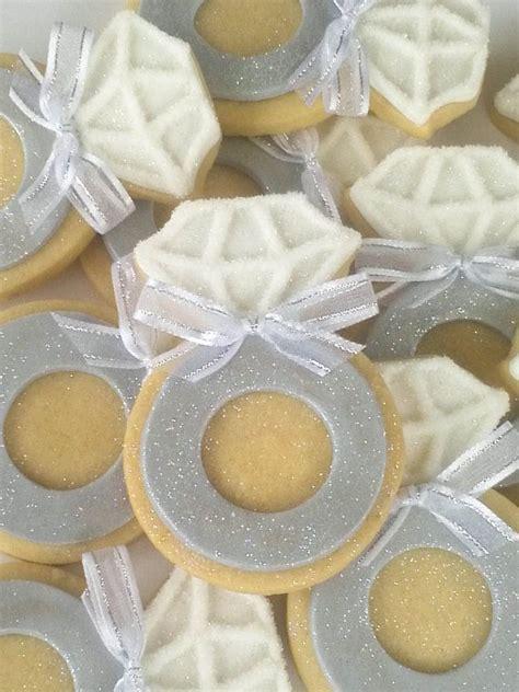 ring sugar cookies 4 dozen with sheer pink ribbon for