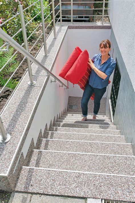 Terrassen Fliesen Schleifen by Au 223 Entreppe Sanieren Selbst De
