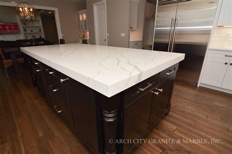 How Thick Is Quartz Countertop by Granite Countertop Gallery In St Louis Mo Arch City Granite