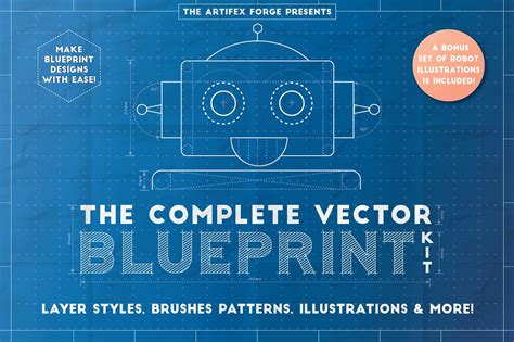 c templates the complete the complete vector blueprint kit add ons creative market