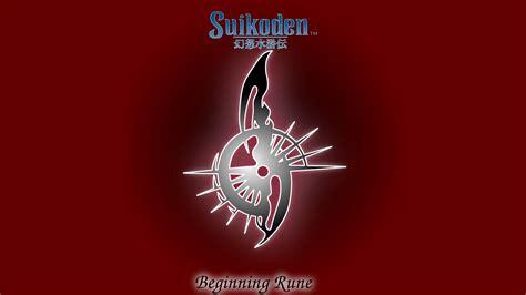 FanArt I have redrawn the Suikoden True Runes from