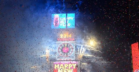 Watch Live The Times Square New Year's Eve Celebration
