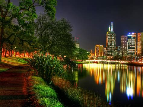 The City Night Lights Wallpapers And Images Wallpapers