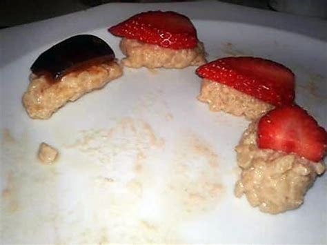 recette de sushis 224 la fraise et 224 la prune