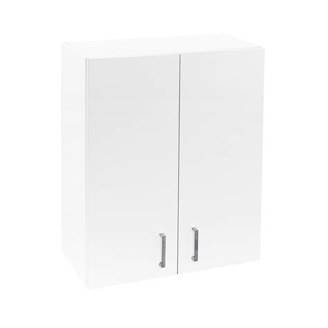Flat Pack Laundry Cupboards Bunnings by Flatpax Kitset 600mm Utility Cupboard 2 Door White