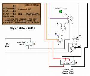 Dayton Motor Wiring Instructions