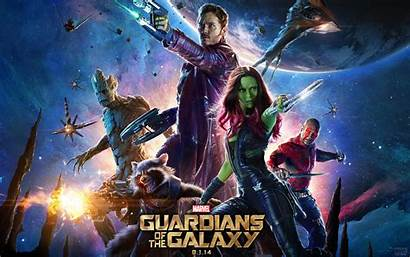 Guardians Galaxy Marvel Movies Film Credit Space