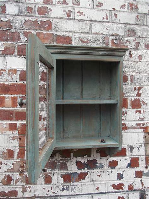 reclaimed antique bathroom cabinet  woods vintage home