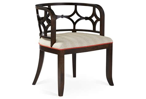 Lily Chair, Polka Dots, Accent & From One Kings Lane