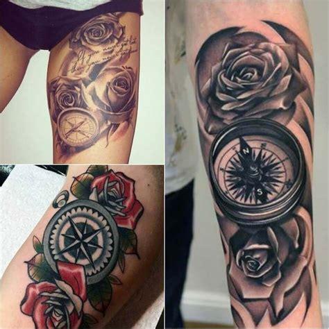 compass tattoo designs popular ideas  compass tattoos
