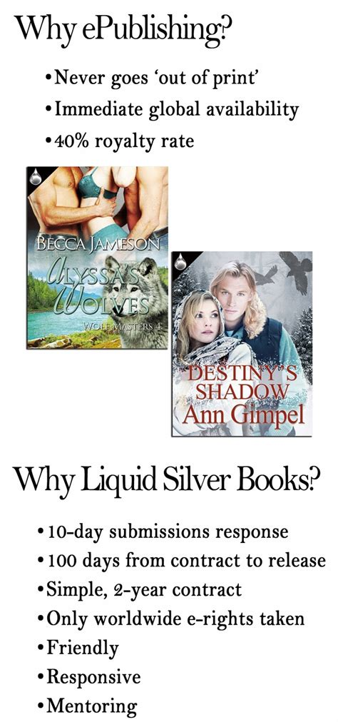 17 Best Images About Get To Know Liquid Silver Books On