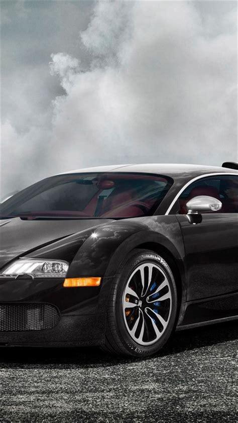 bugatti veyron black cars mist smoke wallpaper