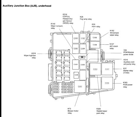 03 Lincoln L Fuse Diagram by 2004 Lincoln L Fuse Diagram Printable Worksheets And