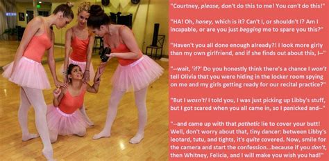 Ballerina Blackmail (tg) By Wishingwithwhitney