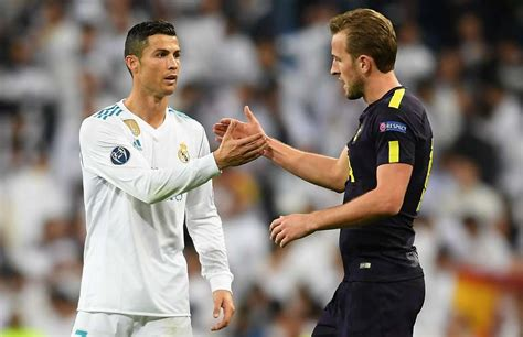 harry kane reveals     ronaldo  real