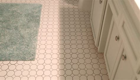 sausalito tile how to update a hall bathroom on a budget