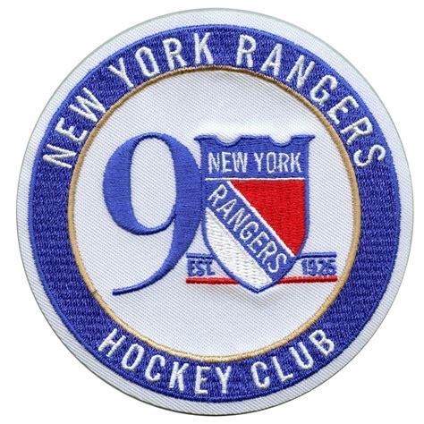 nhl  york rangers  anniversary official hockey