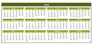 Steuererklärungsformulare 2014 Zum Ausdrucken : kostenloser jahreskalender 2014 als excelvorlage excel vorlagen f r jeden zweck ~ Frokenaadalensverden.com Haus und Dekorationen