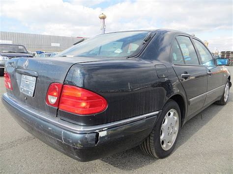 The exterior paint, trim and interior would show normal wear, needing only minor reconditioning. 1996 Mercedes-Benz E320 210055 E320 for sale, Japanese used cars details - CarPriceNet