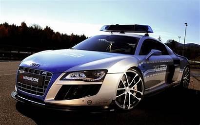 Police Cool Cars Audi Wallpapers Desktop 1080p