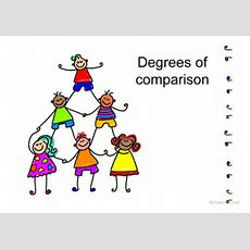 Degrees Of Comparison Worksheet  Free Esl Projectable Worksheets Made By Teachers