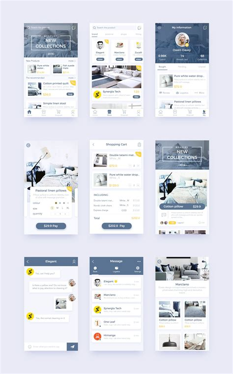 Home Design Software For Android Mobile by Home 9 Mobile Ui Inspiration Android App