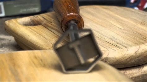 diy woodworking branding iron youtube