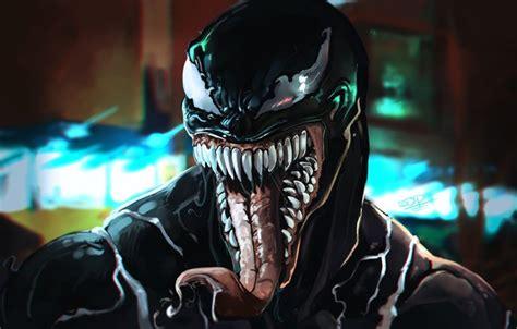Wallpaper Symbiote, Teeth, Comics, Language, Symbiote