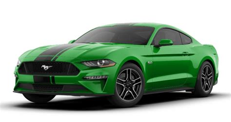 ford mustang gt premium colors release date