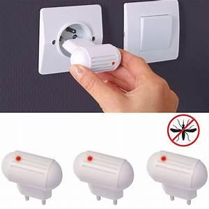 Prise Anti Moustique Efficace : prise anti moustiques x3 ultrasons r pulsifs anti ~ Dailycaller-alerts.com Idées de Décoration
