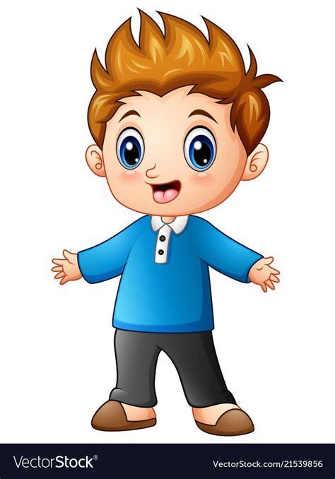 illustration  cute  boy cartoon