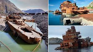 Salvaging The Wreck Of An Old Russian Cruiser The Murmansk