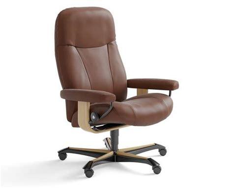 fauteuil bureau stressless sièges et fauteuils de bureau ergonomiques stressless