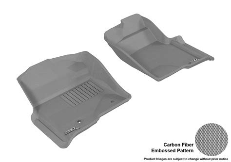 maxpider 3d rubber molded floor mat for ford f 150 09 14