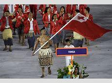 So how did that oiledup Tonga flag bearer do in Rio?