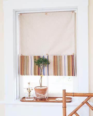 Buttonup Window Shade  Martha Stewart