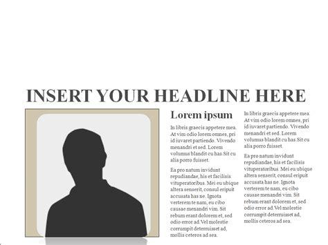 blog  newspaper template