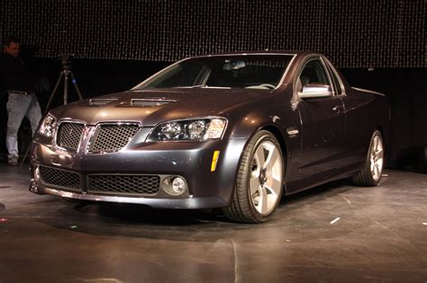 2018 Pontiac G8 Sport Truck Live Reveal Photo Gallery