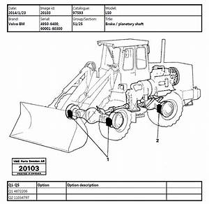 Volvo Bm L50 Wheel Loader Service And Parts Manual