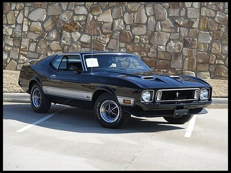 amazing mustang car 1973 ford mustang mach 1 fastback car amazing
