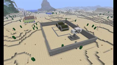 Minecraft Timelapse Military Base Youtube