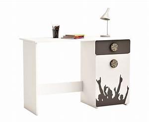 Schreibtisch Weiß Schubladen : schreibtisch fussball mit 3 schubladen in grau wei ~ Orissabook.com Haus und Dekorationen