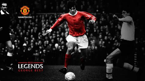 george  red legends manchester united wallpaper