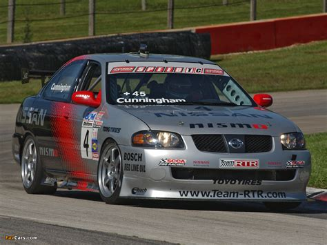 nissan nismo race car nismo nissan sentra se r spec v racing car b15 2004