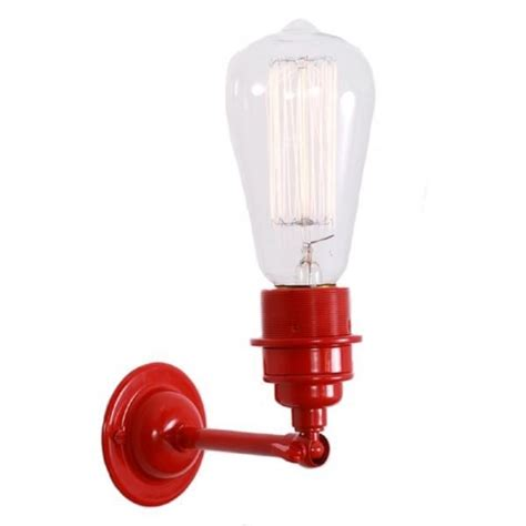 industrial style painted metal wall light use with