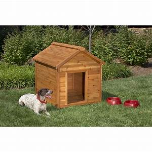 shop simply cedar large cedar dog house at lowescom With dog houses for sale at lowes