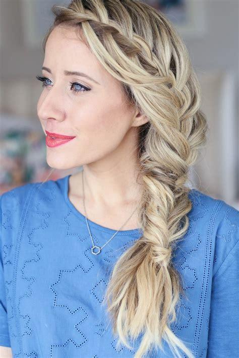 creative fishtail braid hairstyles