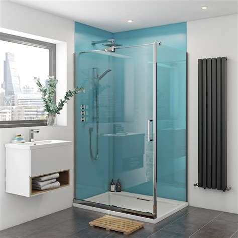 Bathroom Shower Walls - zenolite plus water acrylic shower wall panel 2440 x 1000